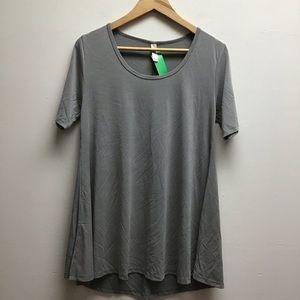 LulaRoe Gray top